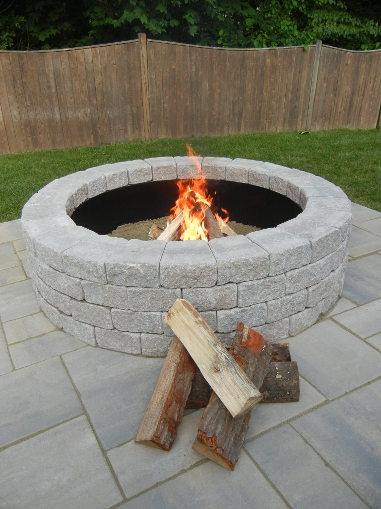 ... Fire Pit Kits. ;  - Unilock Fire Pit Kits - Old Station Landscape & Masonry Supply Norton MA