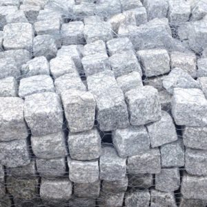 Cobblestone and Granite Landscaping Materials