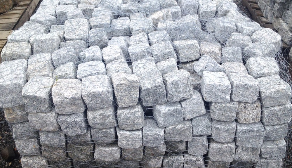 Cobblestone and Granite Landscaping Materials