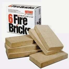 Fire Bricks 6-Pack RUT-604
