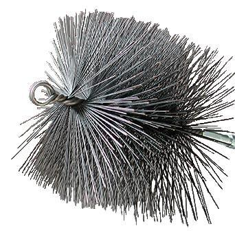 Rutland Chimney Sweep Square Wire Brush 16506 Old
