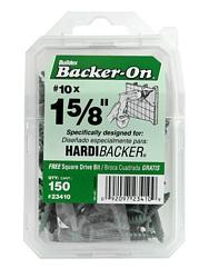 ITW Buildex Hardibacker Cement Board Screws #10  Backer-On (150 Count)