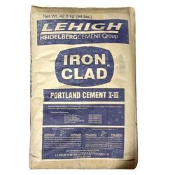 Iron Clad Type 1+2 (I-II) Portland Cement, 94LB