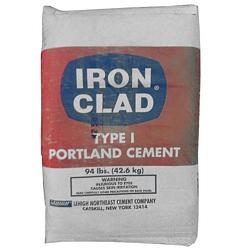 Iron Clad Type 1 Portland Cement, 94LB
