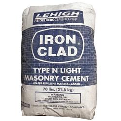 Iron Clad Type N Light Masonry Cement, 70LB