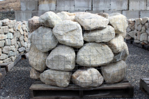 Beach Stone Wall Mix - Random Size and Shape