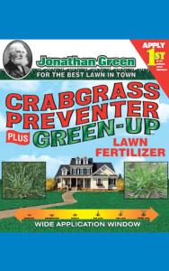 Jonathan Green Crabgrass Preventer plus Green-Up Lawn Fertilizer 22-0-3