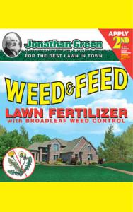 Jonathan Green Weed & Feed Lawn Fertilizer 21-0-3