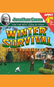 Jonathan Green Winter Survival Fall Fertilizer 10-0-20