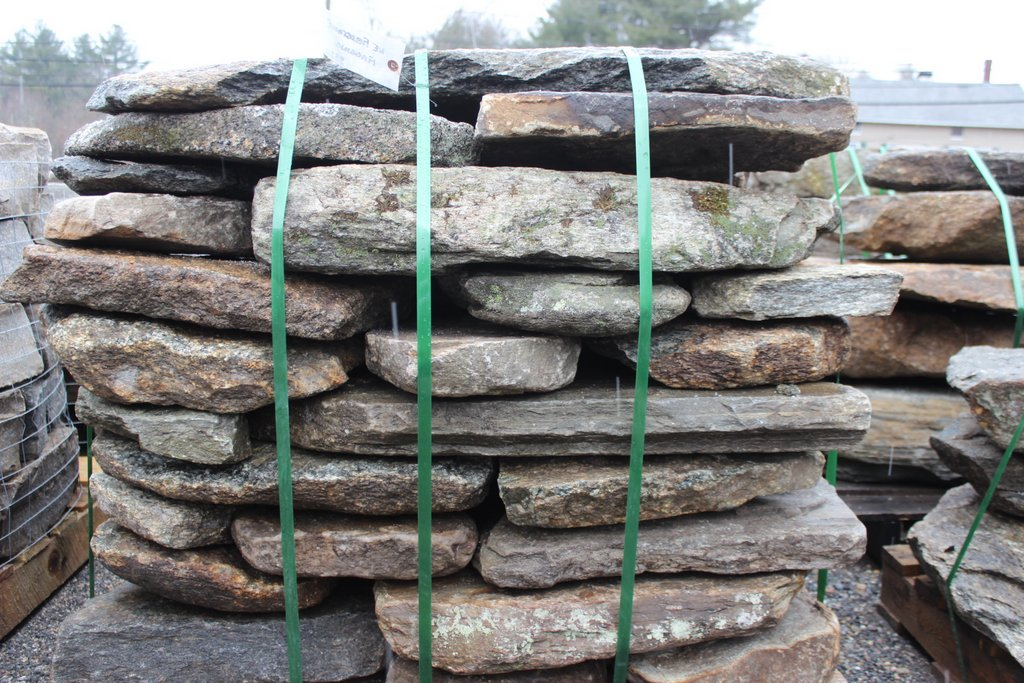New England Fieldstone : New england fieldstone flagging quot thick old station