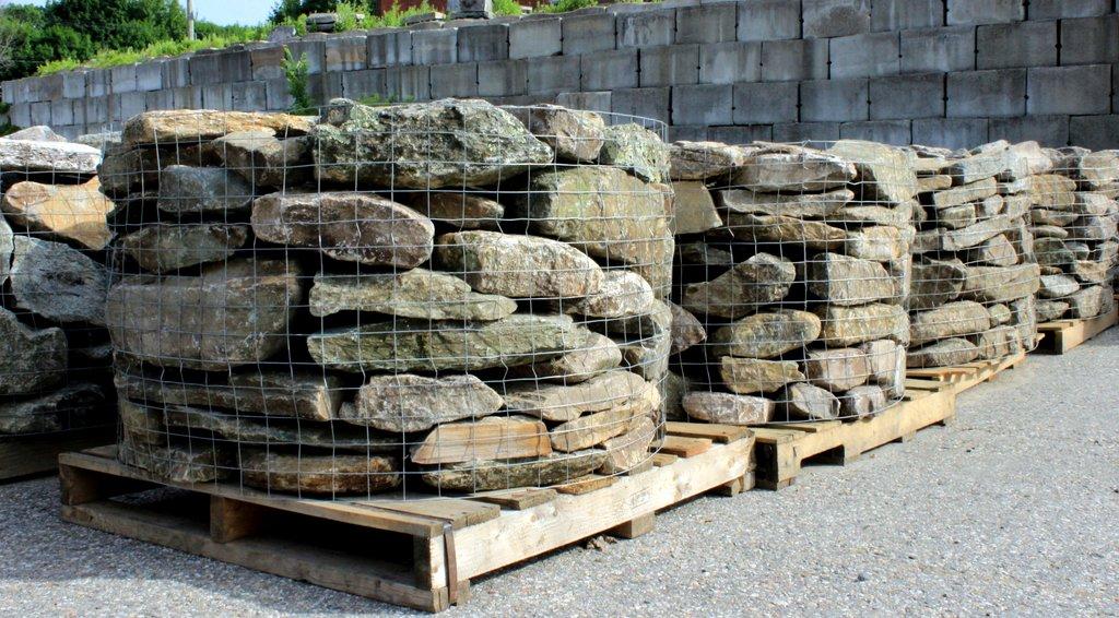 New England Fieldstone : New england fieldstone flats quot rise rustic flat mix