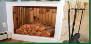 Kiln Dried Firewood in bags