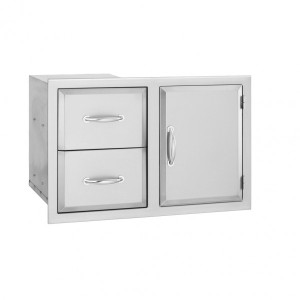 Alturi Door 2-Drawer Combo