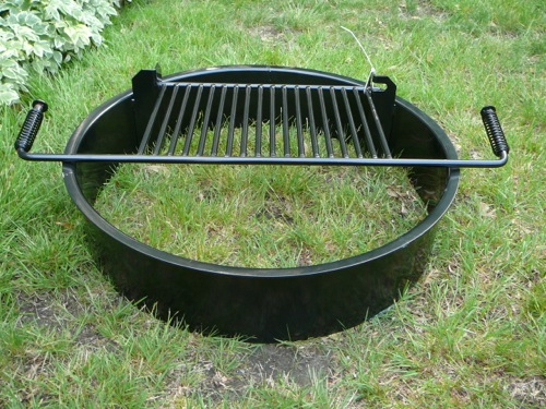 Steel Fire Pit Inserts Round & Square - Steel Fire Pit Inserts Round & Square - Old Station Landscape