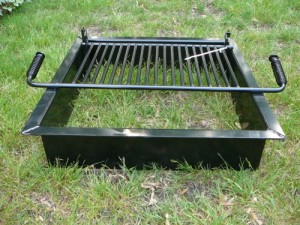 Steel Fire Pit Inserts Square