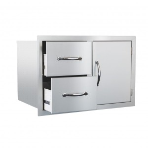 Summerset 2-Drawer Door Combo