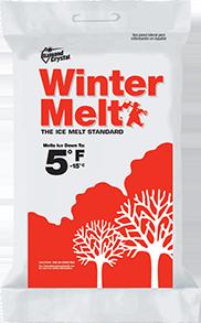 Diamond Crystal Winter Melt Ice Melter, 50 Lb, Bag, 5 Deg F, White, Crystalline Solid