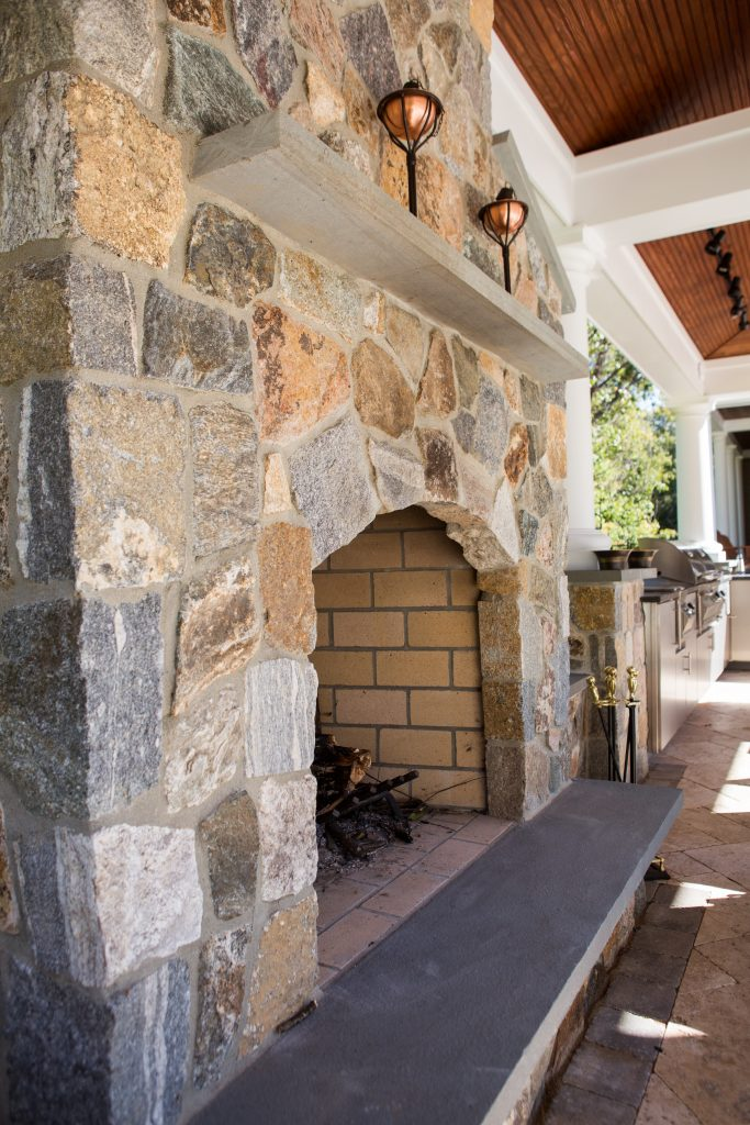 Stone For Fireplaces stone veneer for fireplaces - old station landscape & masonry