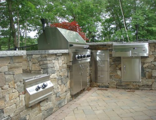 Stone Veneer on Outdoor Living Projects