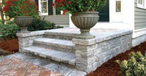 Unilock Estate Wall Steps
