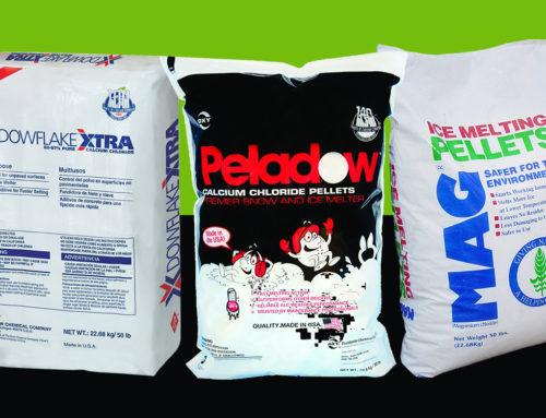 Rock Salt Vs. Ice Melting Salt: Your Landscape Supply Store Weighs In