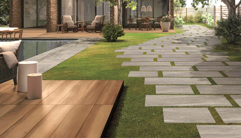 Outdoor Porcelain Tiles The New Paving Option