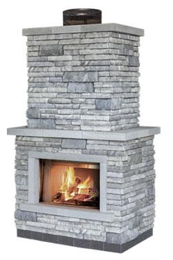 Unilock Fireplaces - Old Station Landscape & Masonry ...