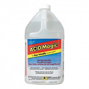 Acid magic buff muriatic acid 1 gal old station for Natural concrete cleaner