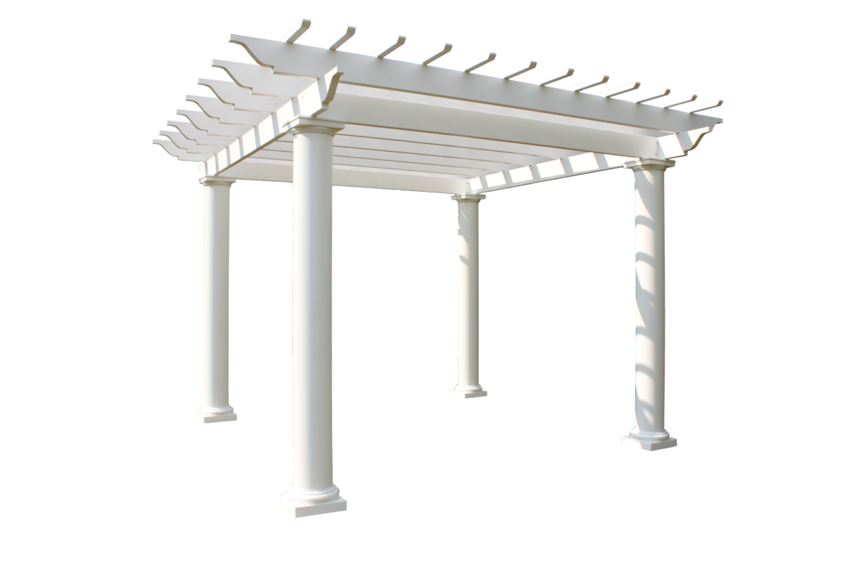 Fiberglass Pergolas Arbors Trellises And Swing Entry