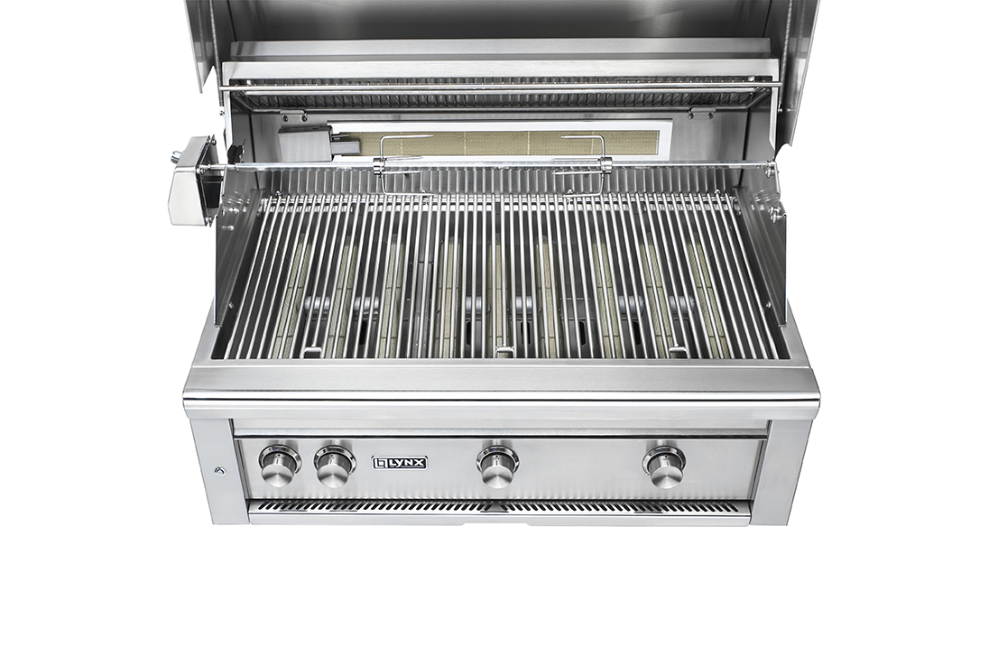 "Lynx 36"" Professional Built-in Grill With All Trident"