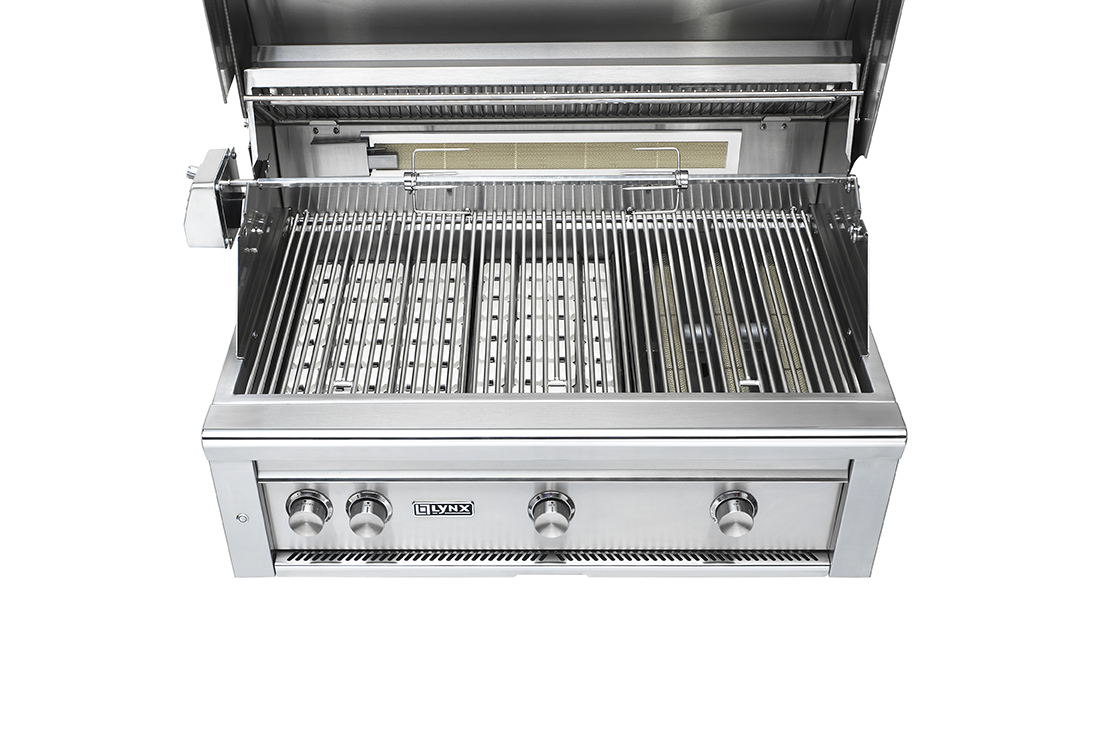 "Lynx 36"" Professional Built-in Grill With 1 Trident"