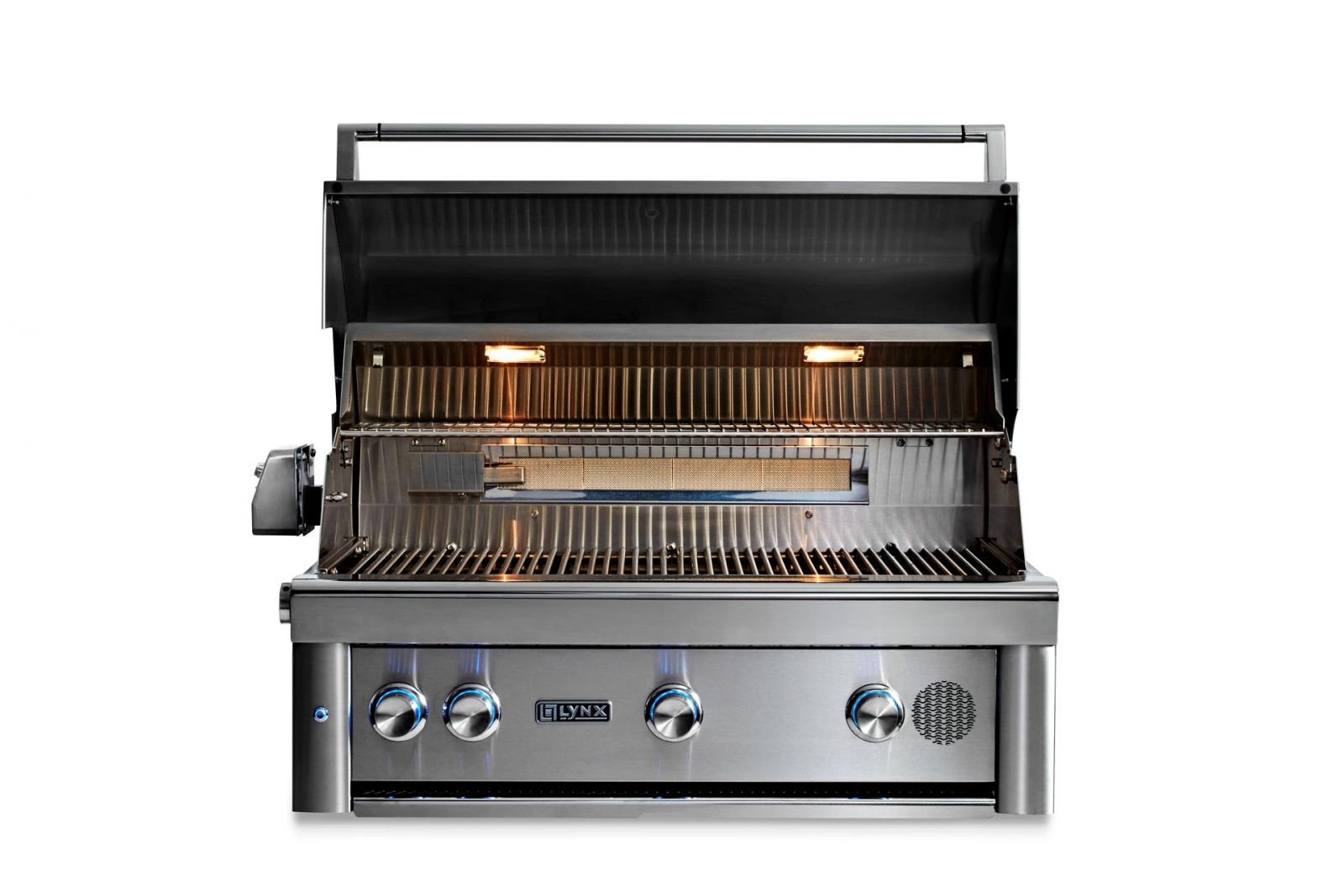 """Lynx 36"""" Professional Built-in Smart Grill With Rotisserie"""