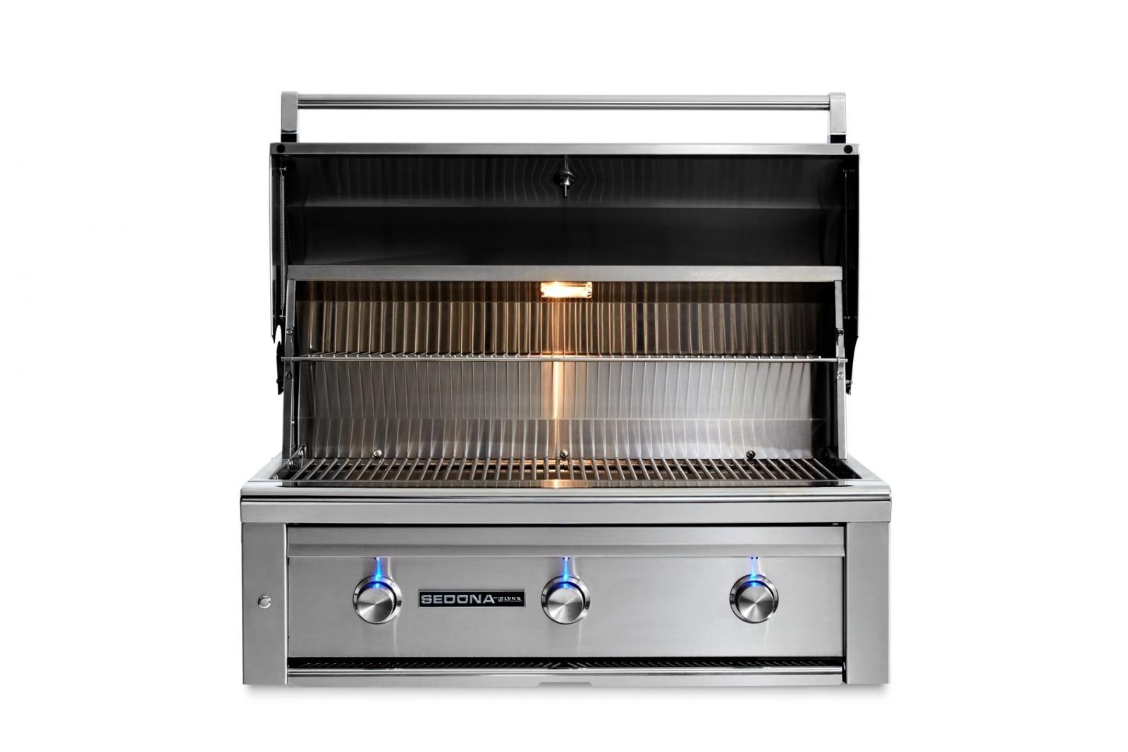 "Lynx 36"" Sedona Built-in Grill With 3 Stainless Steel"