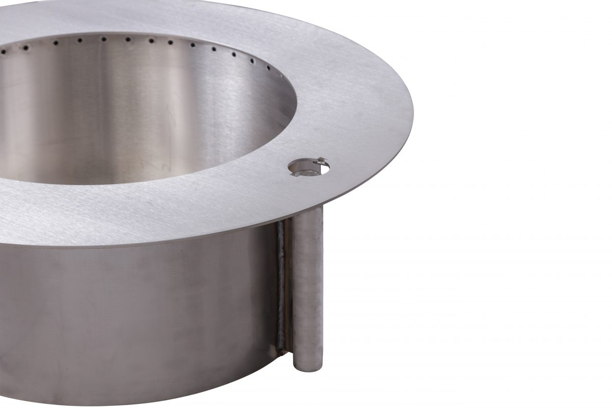 Breeo Zentro Round Fire Pit Stainless Old Station