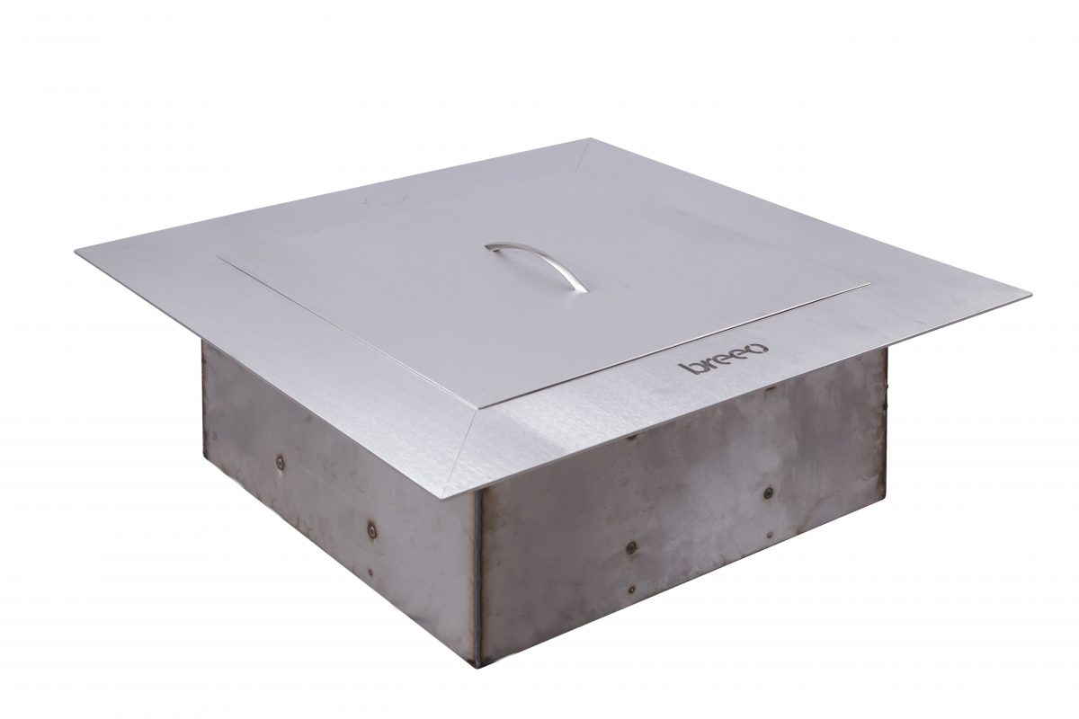 Breeo Zentro Square Fire Pit Stainless Old Station